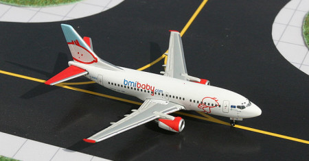 GJBMI409 - 1/400 Scale 737-59D diecast aircraft model of bmibaby.com, G-BVKB.