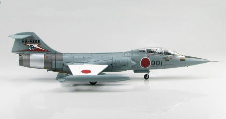 "Hobby Master HA1052 - 1/72 scale F-104DJ Starfighter diecast aircraft model of ""26-5001"", 207 Sqn, Japan Air Self Defence Force. www.armchairaviator.com.au"