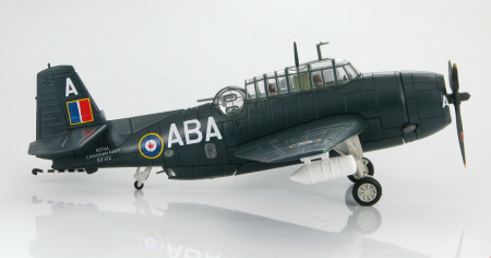 Hobby Master HA1211 - 1/72 Scale TBM-3E Avenger of 826 Sqn, Royal Canadian Navy. www.armchairaviator.com.au