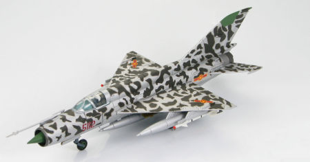 Hobby Master HA0181B - 1/72 scale Mikoyan-Gurevich MiG-21 MF diecast model aircraft of 5112, Lt. Nguyen Hong My North Vietnamese Air Force 16 April 1972. www.armchairaviator.com.au