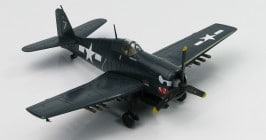 "Hobby Master HA1115 - 1/72 scale Grumman F6F-5 Hellcat diecast aircraft model of White 7, ""Paper Doll"", VF-27, USS Princeton, 24 Oct 1944. www.armchairaviator.com.au"