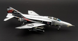 "Starboard View Air Commander AC1004 - 1/72 scale McDonnell Douglas F-4E Phantom II Diecast Model aircraft of 37+03, JG71 ""Richthofen"" 50th Anniversary Luftwaffe, 2009."